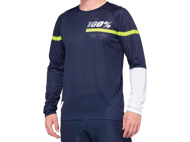 100% R-Core DH Jersey Men dark blue/yellow